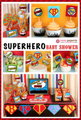 superhero baby shower package baby shower ideas themes games