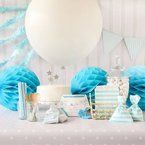 blue baby shower kit