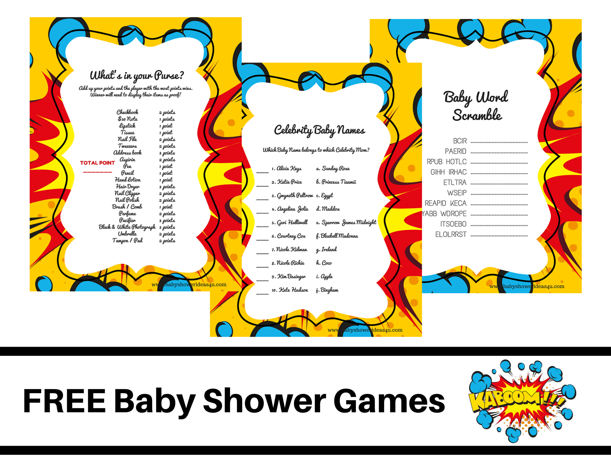 Free printable baby food scramble game hot girls wallpaper for Bathroom designs games