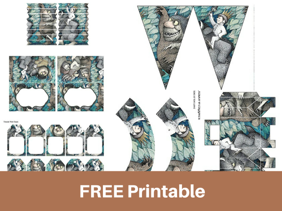 Free Printable Where The Wild Things Are Baby