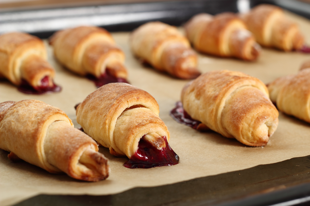 Croissant Cookies with Jam