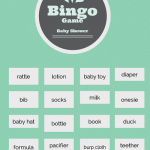FREE Printable Baby Bingo Game
