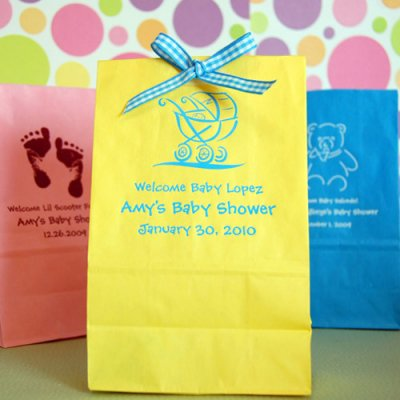 personalized baby shower candy bags baby shower ideas themes