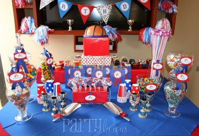 All Star Sports Themed Baby Shower For Boys