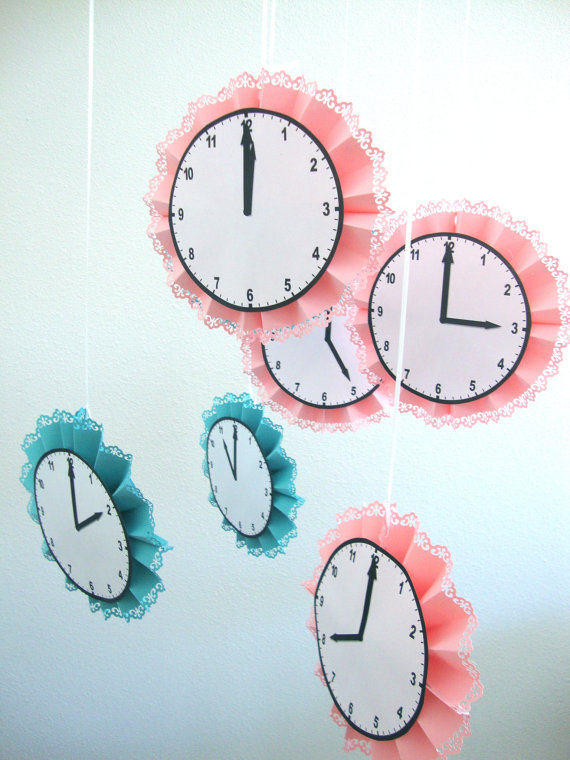 Around the Clock Baby Shower Theme Baby Shower Ideas and Shops