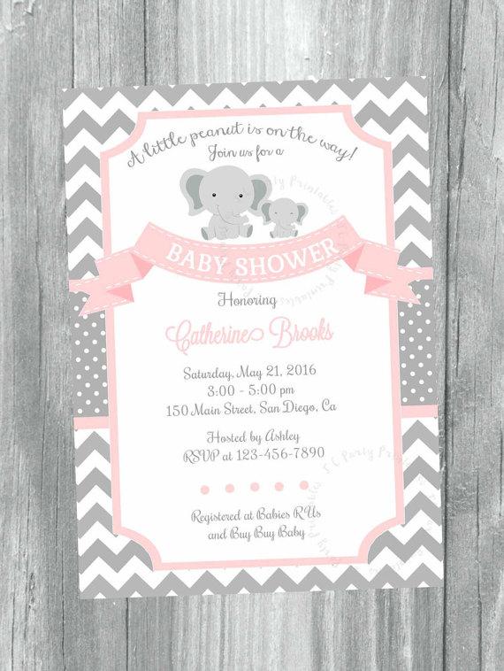 Elephant Baby Shower Ideas Little Peanut Baby Shower