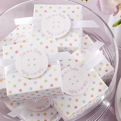 cute as a button baby shower favors baby shower ideas themes