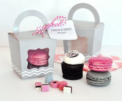 mini individual cupcake boxes