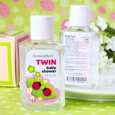 personalized hand sanitizer favor 400 baby shower ideas themes