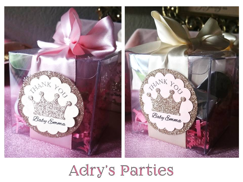 Princess Royal Baby Shower Favor Boxes Baby Shower Ideas Themes