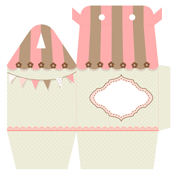 Diy Free Printable Favor Boxes Baby Shower Ideas Themes