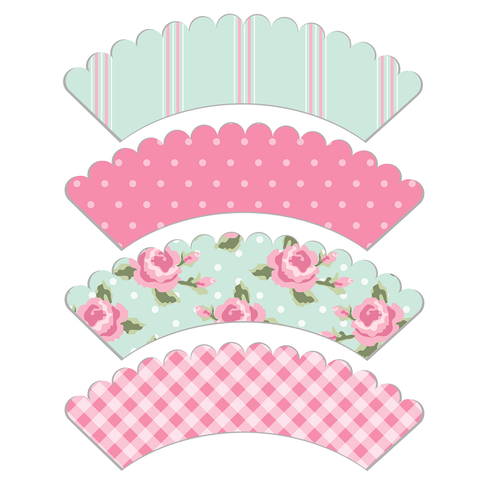 Free Printable Cupcake Wrapper | Apps Directories