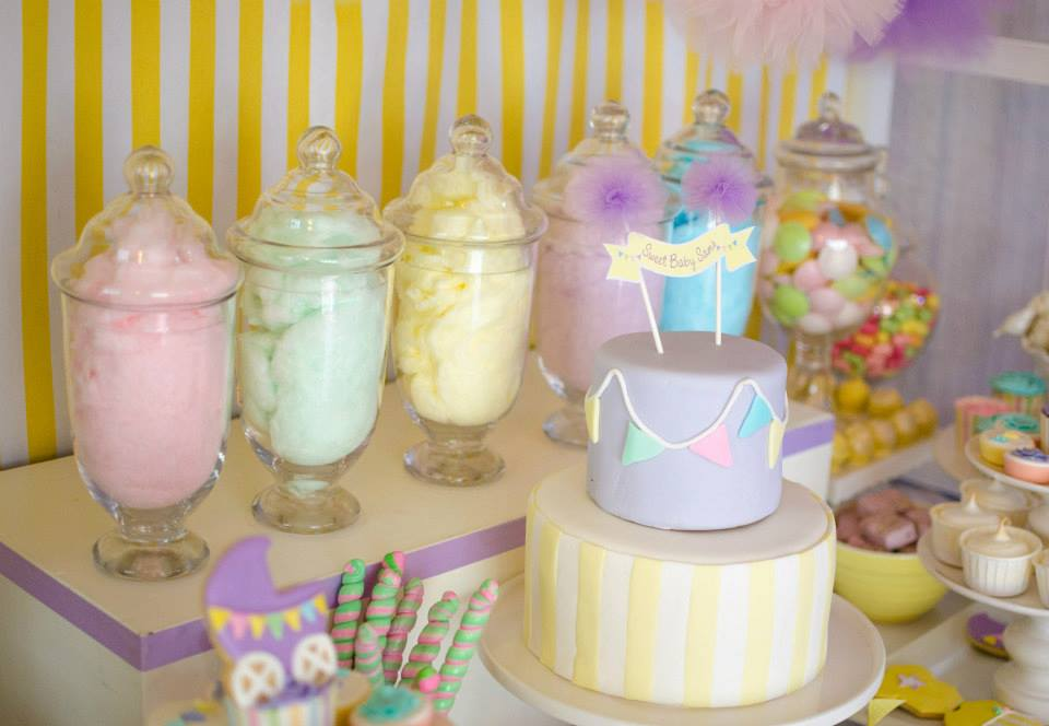 fairy floss pastel baby shower baby shower ideas and shops