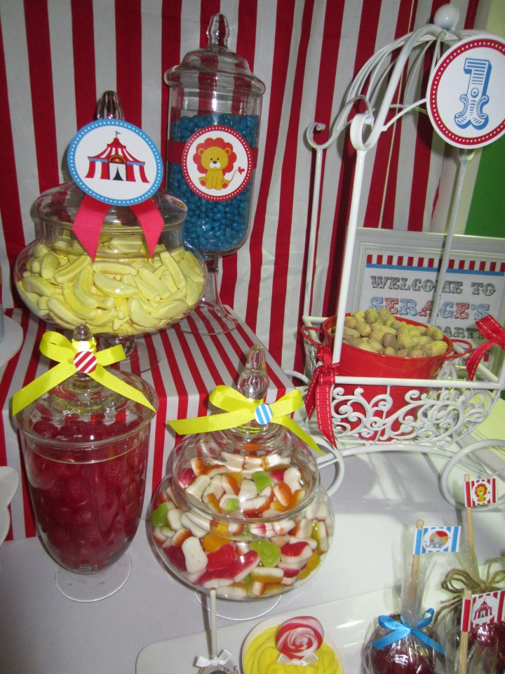 circus birthday party baby shower ideas themes games