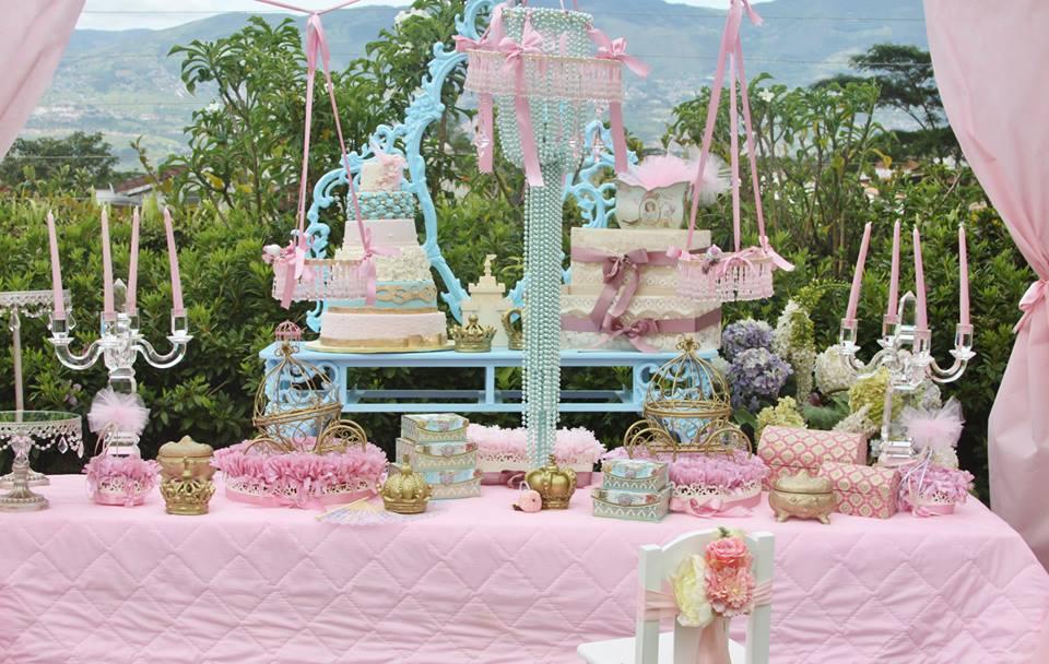 Vintage Princess Party Chandelier