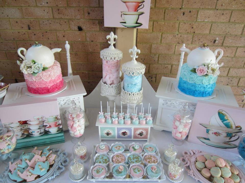 Baby Shower Food Ideas: Baby Shower Ideas Tea Party Theme