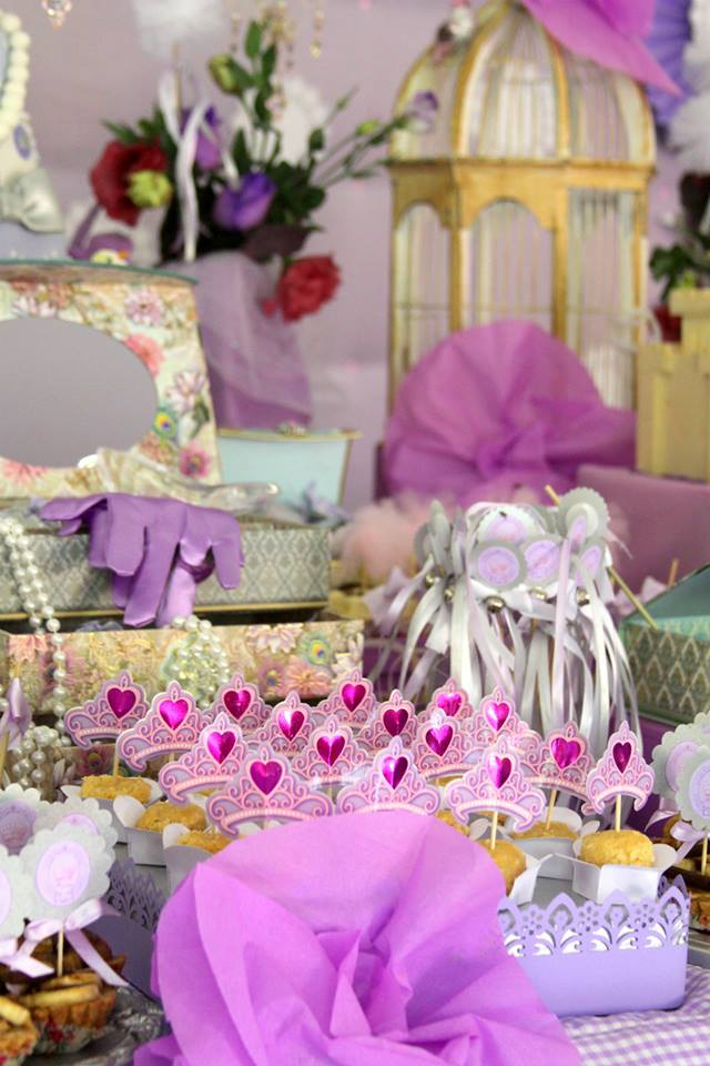 Purple Princess Party Ideas - Baby Shower Ideas and Shops May Flowers Tumblr