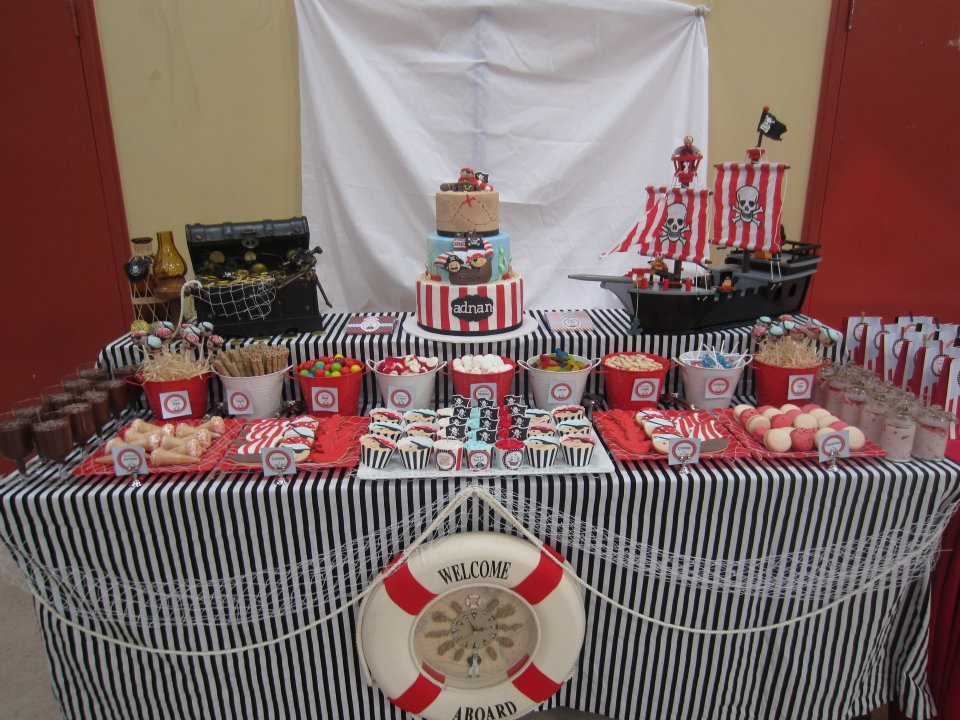 Lovely Pirate Theme Party ...