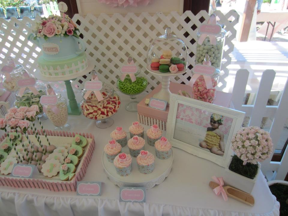 Rosey Garden Party Baby Shower Ideas Themes Games