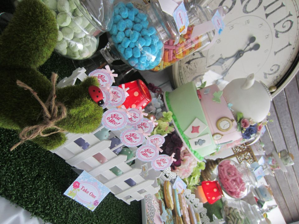 this alice in wonderland party by joanne of cakes by joanne charmand