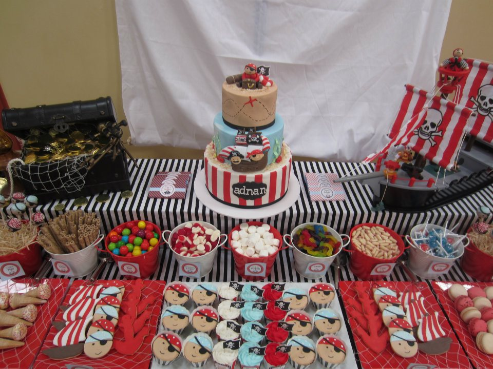 Pirate Theme Nautical Theme Party Baby Shower Ideas