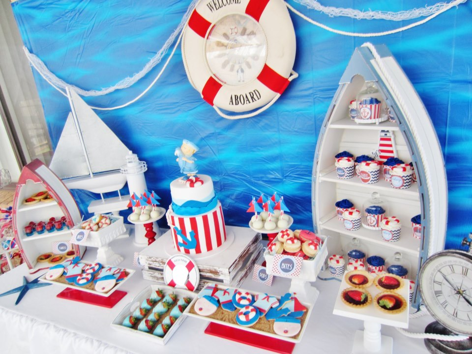 baby shower decorations it 39 s a boy nautical baby shower baby shower