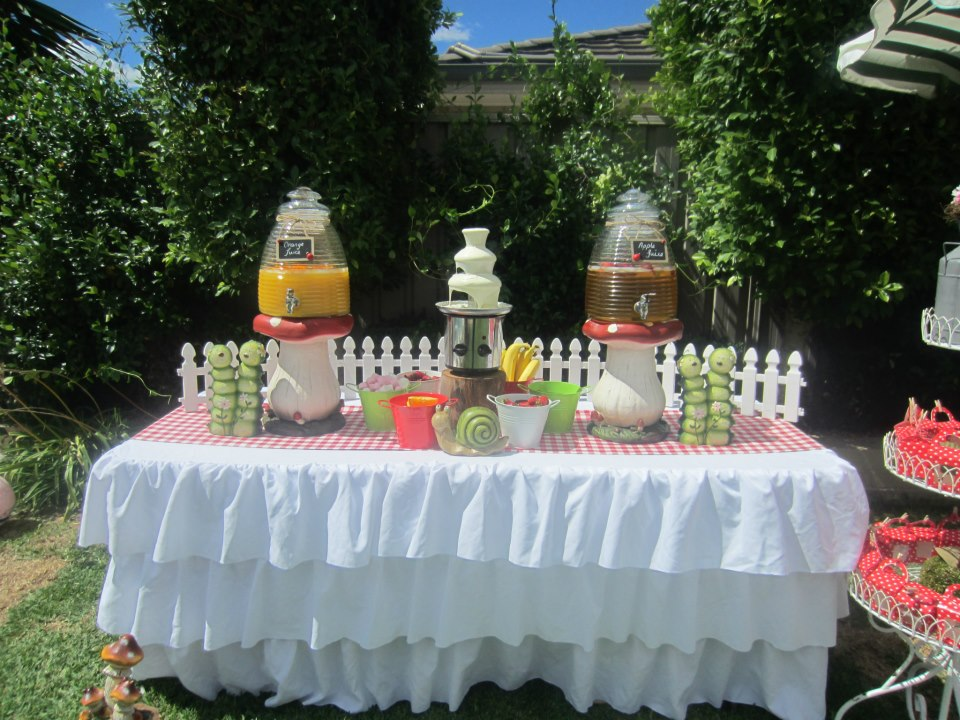 Ladybug Garden Party Baby Shower Ideas Themes Games
