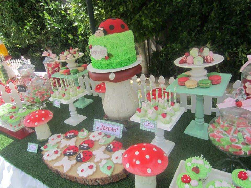 Ladybug Garden Party