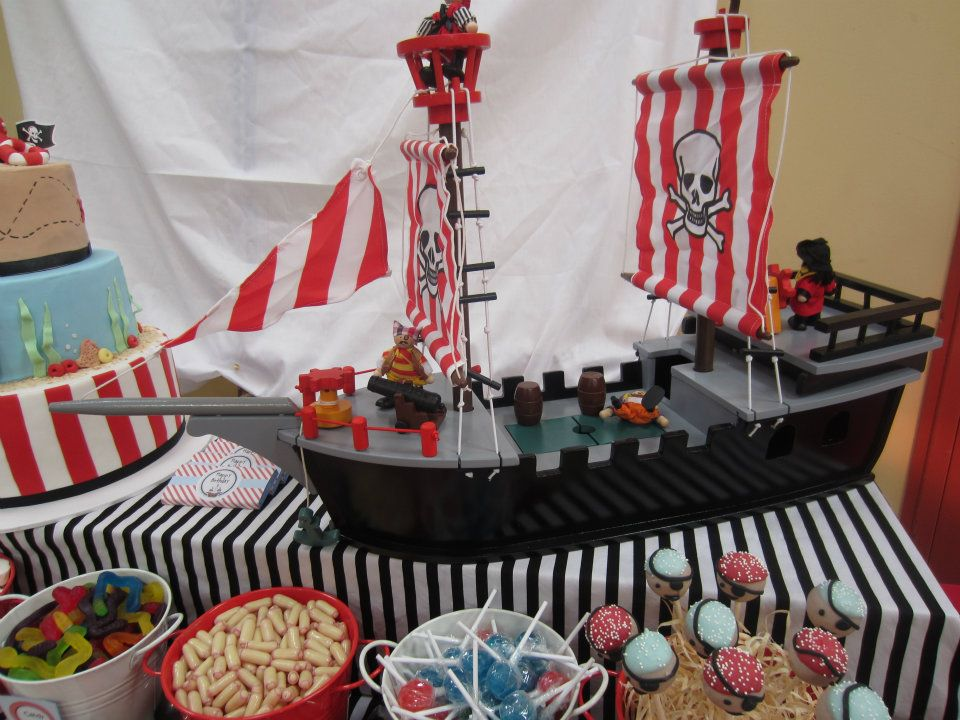 pirate theme nautical theme party baby shower ideas. Black Bedroom Furniture Sets. Home Design Ideas
