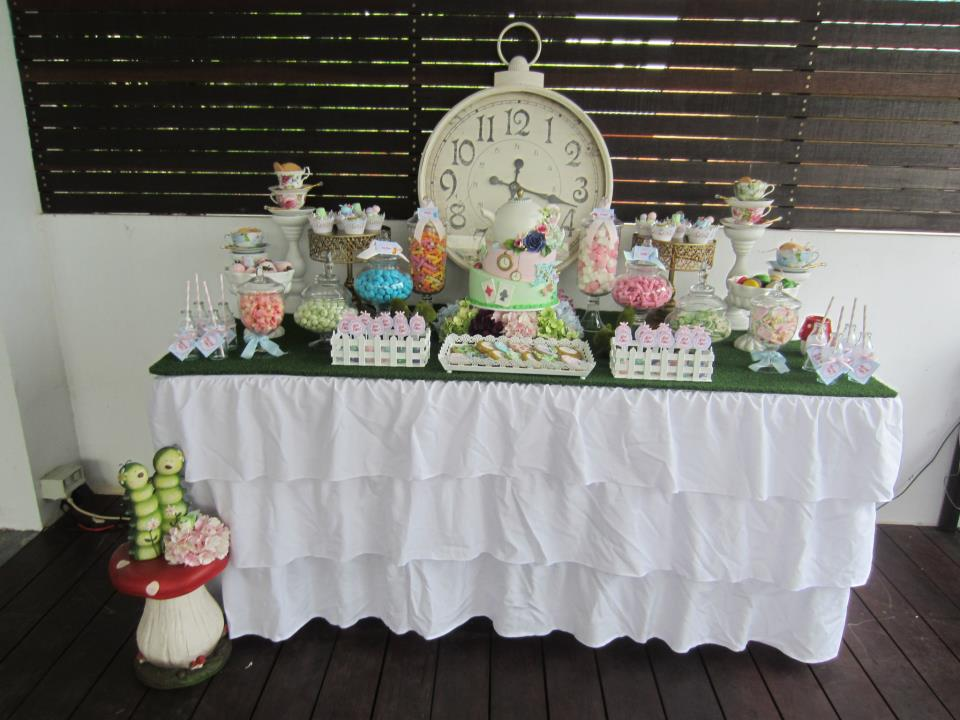 Baby Shower Favors Alice In Wonderland ~ Alice in wonderland party baby shower ideas themes games