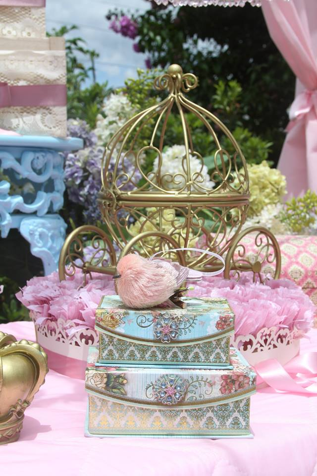 Vintage Princess Party - Baby Shower Ideas - Themes - Games