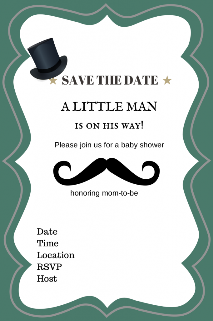 Free Printable Baby Shower Invitations - Baby Shower Ideas - Themes ...