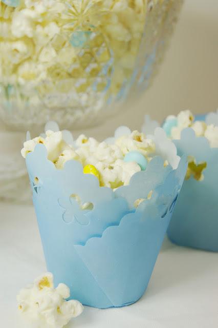 white chocolate baby shower popcorn recipes baby shower ideas