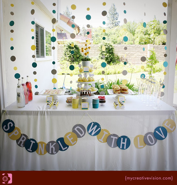 Sprinkle Baby Shower Party
