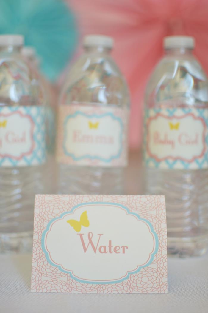 Butterfly garden baby shower theme ideas baby shower ideas and shops - Butterfly themed baby shower favors ...