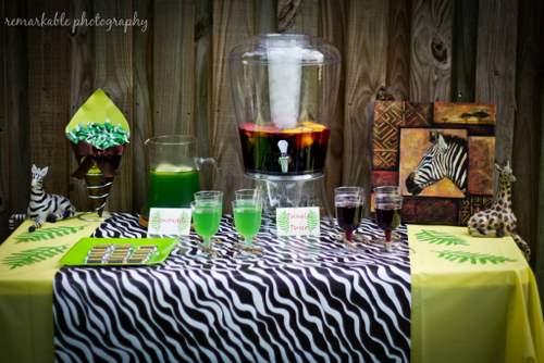 Baby Shower Themed Drinks ~ Fun jungle theme baby shower baby shower ideas themes games