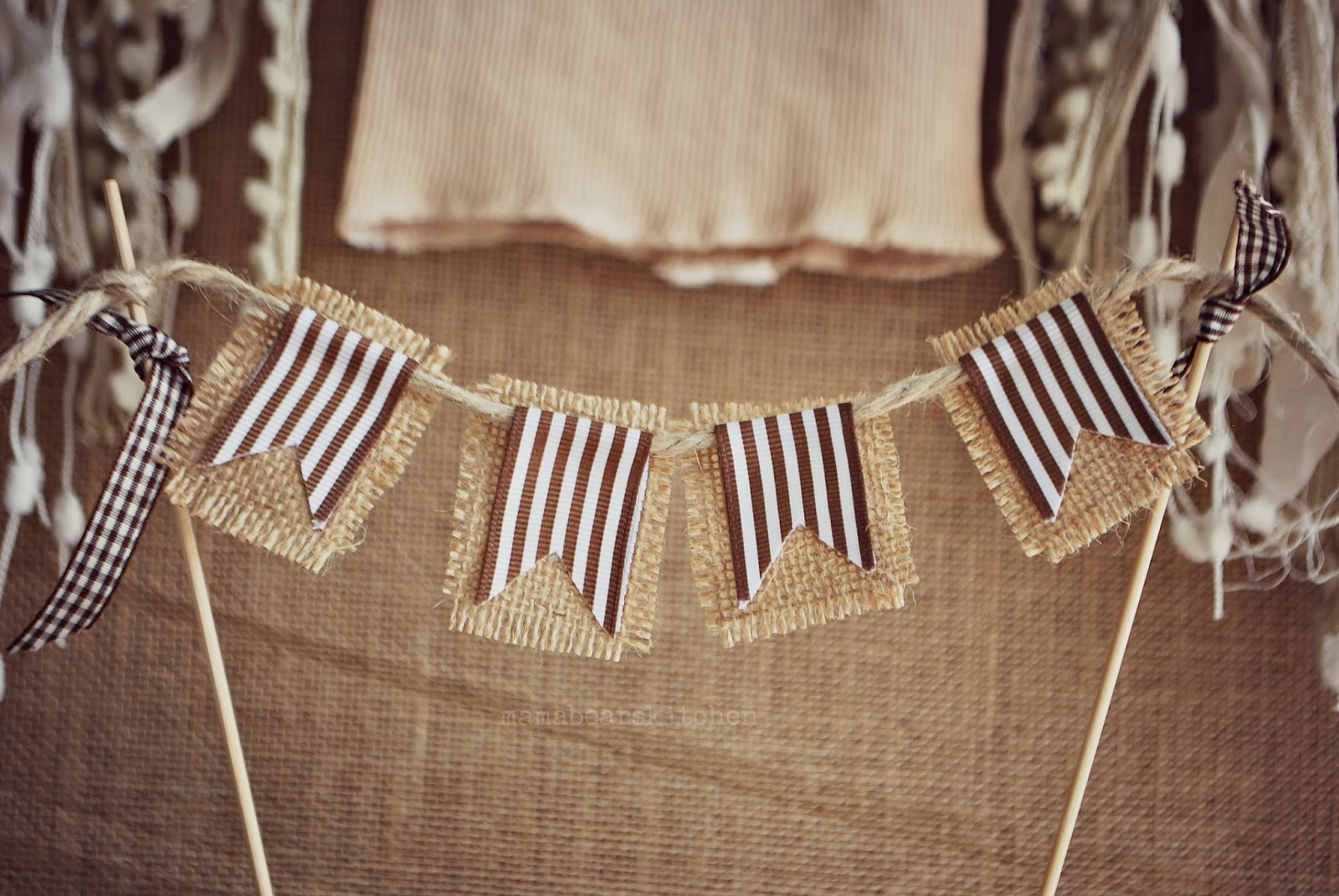 Lace And Burlap Baby Shower Ideas