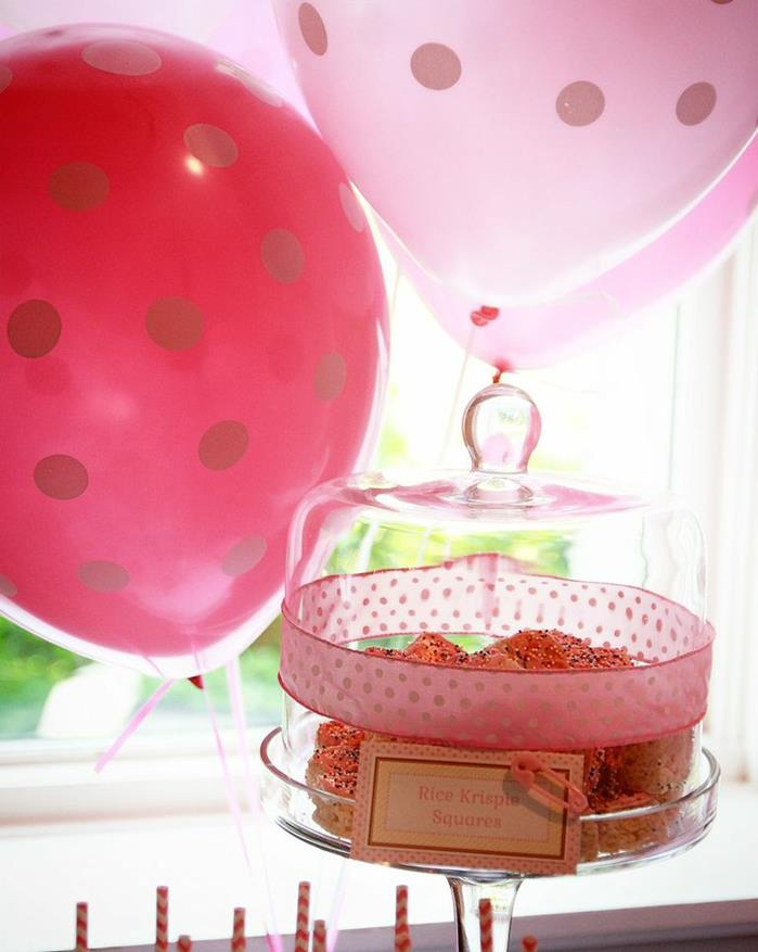 pink sprinkle baby shower ideas