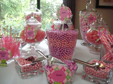 pink and green baby shower ideas shop for green baby shower