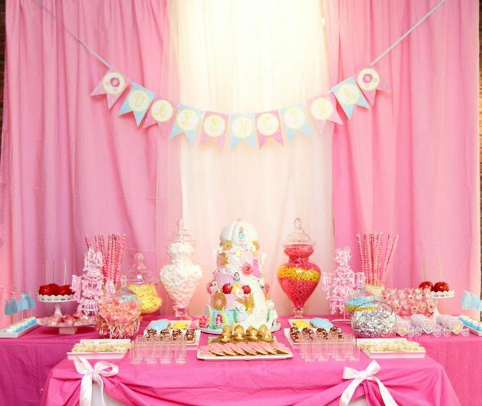 pink fairytale princess party baby shower ideas themes games