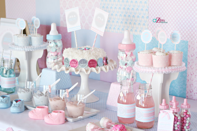 shop for pink baby shower supplies shop for blue baby shower supplies