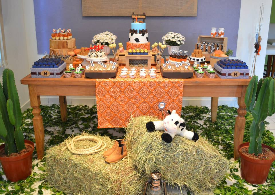A Little Farm Party Baby Shower Ideas Themes Games