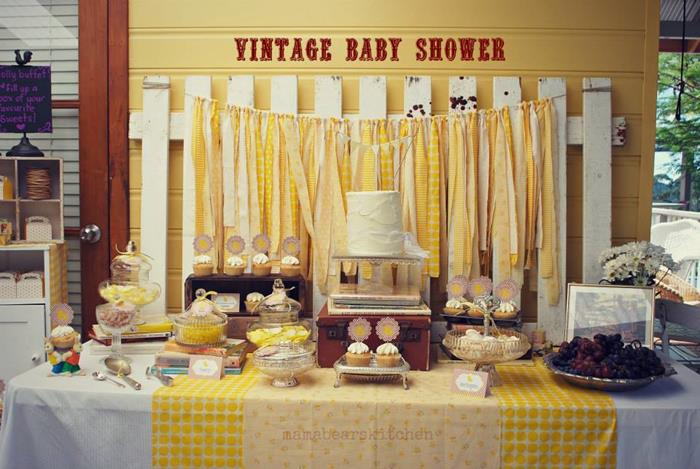 duck yellow vintage baby shower baby shower ideas themes games