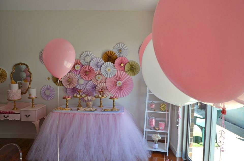 princess tea party baby shower