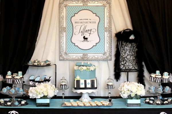 the breakfast at tiffany 39 s baby shower baby shower ideas themes