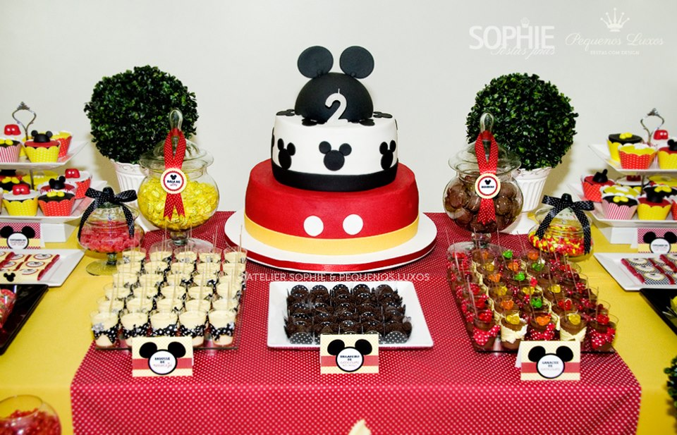 Beautiful Mickey Mouse Baby Shower Ideas
