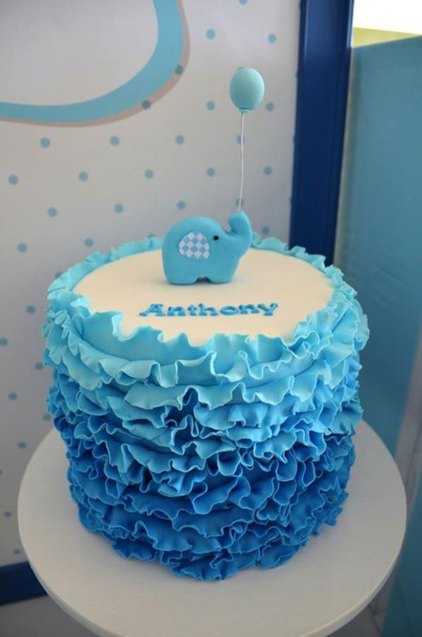 Blue Elephant Baby Shower Ideas And Shops