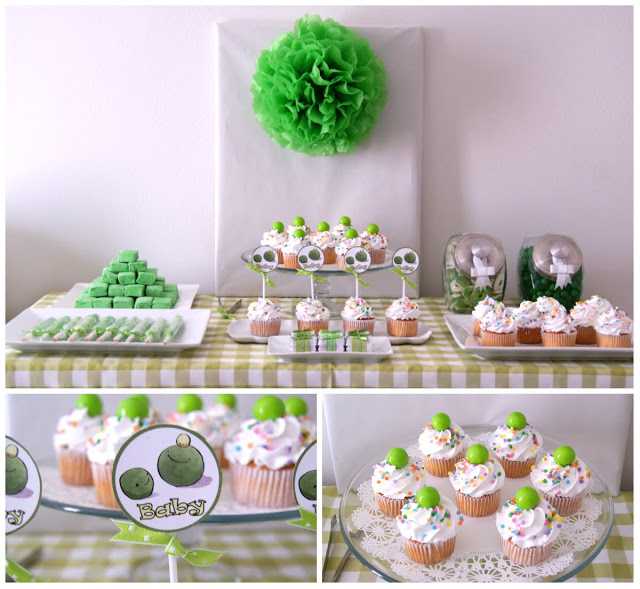 Sweet Baby Pea Baby Shower Themed Party ...