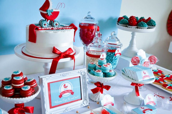 Baby Carriage Baby Shower Theme   Gender Neutral Baby Shower Ideas