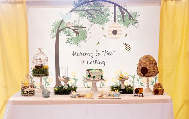 Life Begins With The Birds And The Bees Baby Shower Via Babyshowerideas4u  Mommy To Bee Is